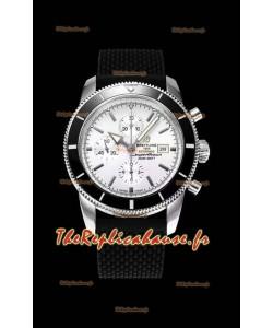Breitling SuperOcean Heritage II 44MM Montre réplique suisse à cadran blanc