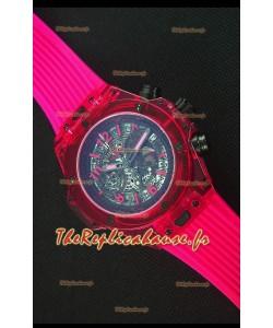 Hublot Big Bang Unico Montre Réplique à quartz 45MM  Saphir Rouge