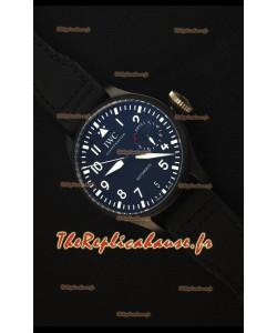 IWC Big Pilot's Top Gun Watch - Montre Réplique Miroir 1:1 Actualisé 2017 REF# IW502001