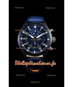 Chronographe de pilote IWC IW389008 Blue Angels Edition 1:1 Reproduction de montre à miroir