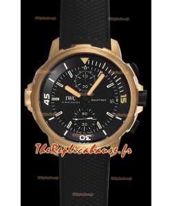 "Chronographe IWC Aquatimer ""Expedition Charles Darwin"" IW379503 Montre à miroir réplique 1:1"