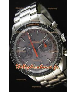 Montre Omega Speedmaster Racing Co-Axial Master Chronographe Suisse à Cadran gris Répliquée