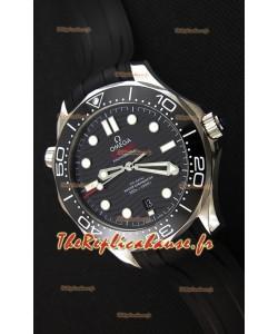 Omega Seamaster 300M Co-Axial Master chronomètre Noir Suisse 1:1 Montre Réplique Miroir