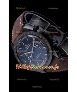 Omega Speedmaster Dark Side of the Moon Boîtier en céramique Cadran noir Réplique miroir 1:1