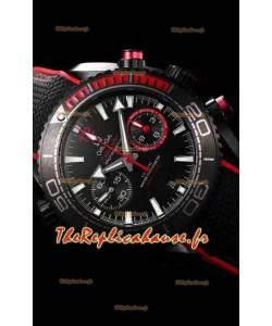 Omega Seamaster Planet Ocean Deep Black 600M Volvo Ocean Race 1:1 Mirror Watch