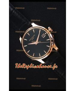 Patek Philippe #Ref 5227 Montre en Or Jaune avec Cadran Noir Montre Réplique Suisse 1:1