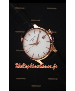 Patek Philippe #Ref 5227 Montre en Or Jaune avec Cadran Blanc Montre Réplique Suisse 1:1