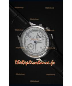Montre Replica Suisse Patek Philippe Complications 5170G avec un Cadran Blanc