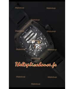 Montre Richard MilleRM069 Tourbillon Erotic Boîtier en PVD Répliquée