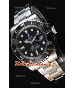 Montre Rolex Submariner Ref#116610 Suisse Répliquée à l'identique 1:1 — Montre ultime en acier904L
