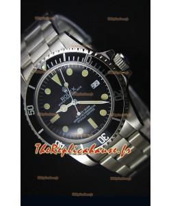Montre à Mouvement Japonais Rolex Sea Dweller Edition Double Red 1665 Vintage