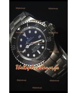 Rolex Sea-Dweller Deepsea Blue 116660 2017 Meilleure éditionMontre Suisse Miroir Ultime 1: 1