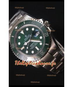 Rolex Submariner 116610 Céramique Verte - Meilleure édition 2017 Montre Réplique Suisse