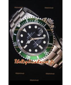 Rolex Submariner 11610LV Lunette Verte - Meilleure édition 2017 Montre Réplique Suisse