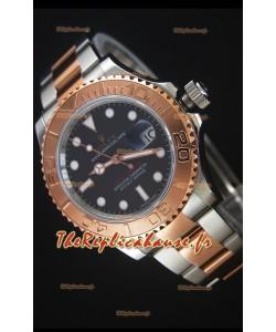 Rolex Yacht-Master 40 Everose Montre Réplique Suisse 1:1  avec Mouvement 3135