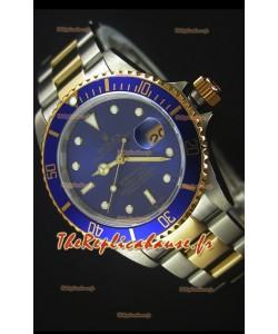 Rolex Submariner 16613 Montre Réplique Suisse 1:1 Deux-Tons avec Mouvement Suisse 3135