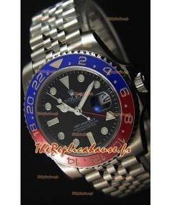 Rolex GMT Masters II 116719BLRO Pepsi Bezel ETA 2836 Mouvement Montre Réplique Suisse - Ultime Acier 904L