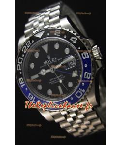 Rolex GMT Masters II 126710BLNR Batman Cal.3186 Mouvement Montre Réplique Suisse - Ultime Acier 904L