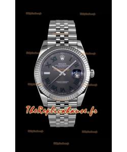 Rolex Datejust Wimbledon Cal.3235 Mouvement Montre Suisse - Ultimate 904L Acier 41MM