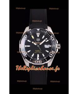 Tag Heuer Aquaracer Calibre 5 1:1 Réplique de montre miroir cadran noir