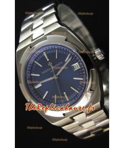 Montre Vacheron Constantin Overseas Cadran Bleu Répliquée à l'identique 1:1