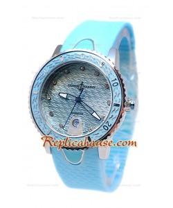 Ulysse Narden Lady Diver Montre De Replique en Bleu Cadran