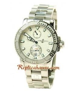 Ulysse Nardin Maxi Marine Chronometer Montre Suisse Replique