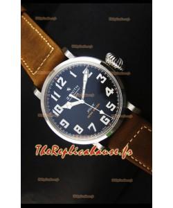 Réplique de montre suisse Zenith Pilot Type 20 Extra Special en acier inoxydable
